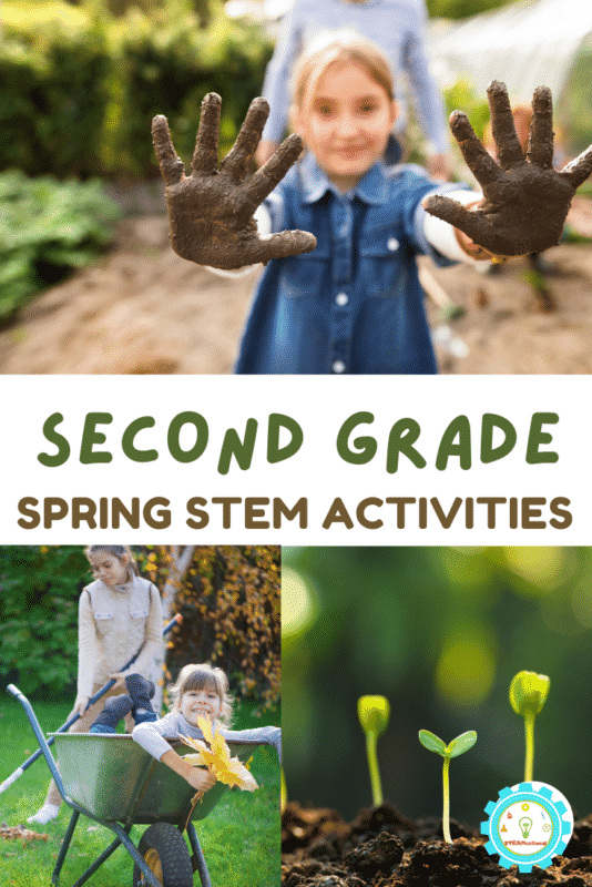 These low-prep spring STEM activities for 2nd grade are just the thing for busy teachers who need good ideas on what to teach for science- fast!