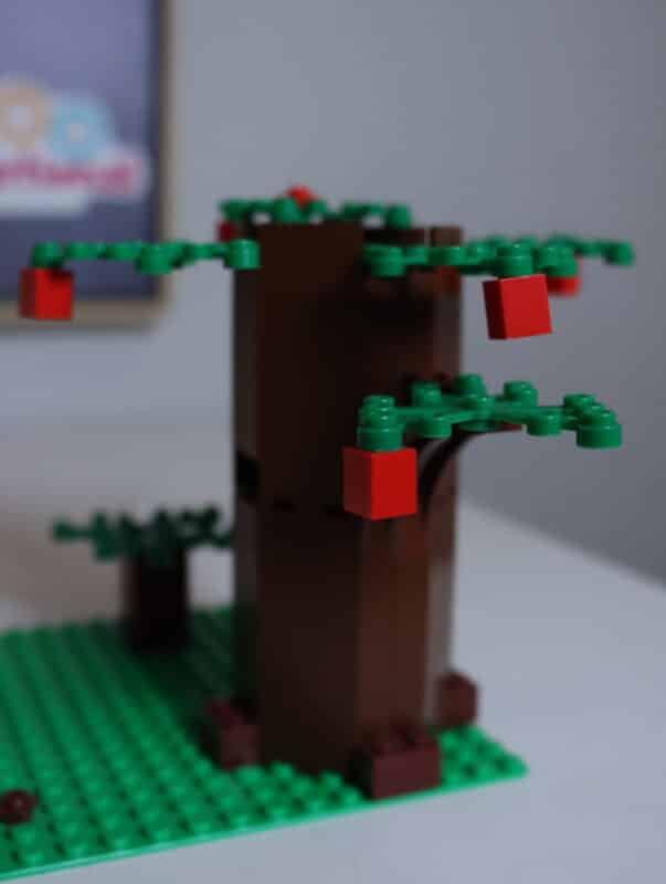 how to build a lego tree
