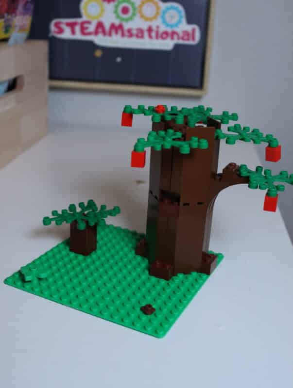 lego earth day stem challenge
