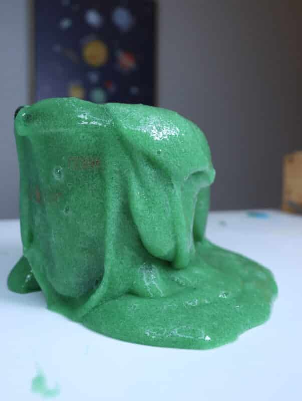 green jelly slime