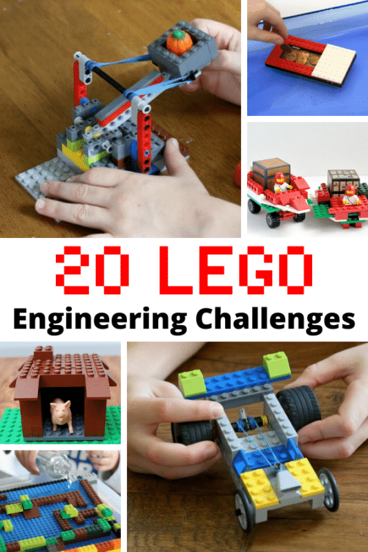 Here are 20 LEGO engineering activities for your kids to do with LEGO bricks. Kids will want to try these LEGO projects again and again!