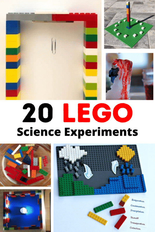 LEGO science activities are sure to please every elementary kid! These elementary science projects are just perfect for science and LEGO lovers.