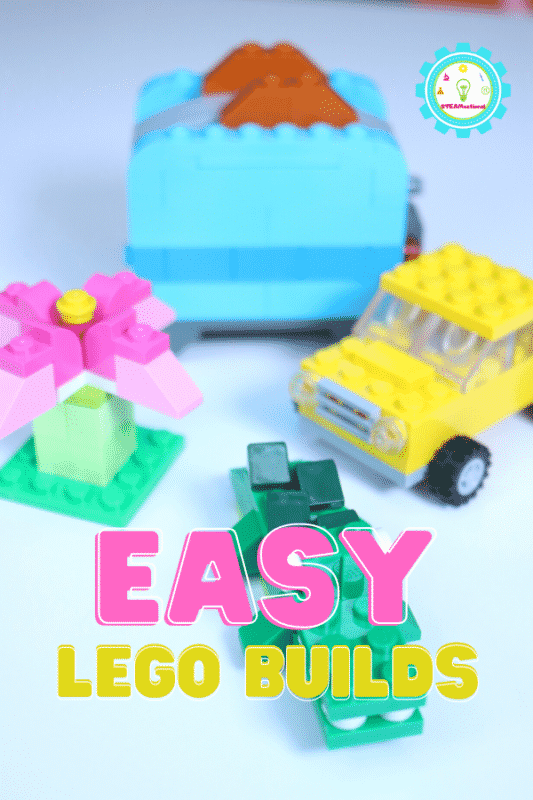 If you enjoy making easy LEGO creations, then you'll love this idea list of easy things to build with LEGOs!