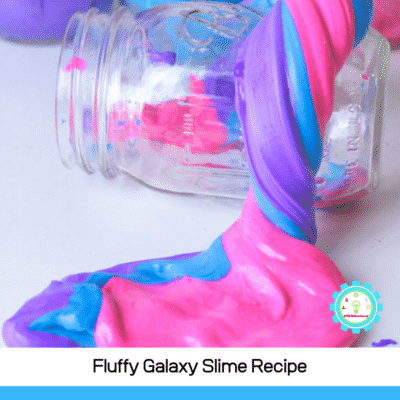 How to Make Fluffy Galaxy Slime (Just 3 ingredients!)