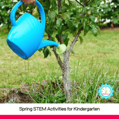 Keep reading to find our best STEM lesson plans for kindergarten and the spring STEM activities for kindergarten!