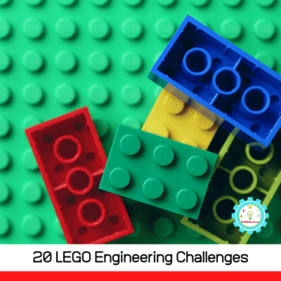 20+ fun LEGO engineering challenges that will let kids explore STEM (technology, engineering, and math) in a fun, hands-on way!