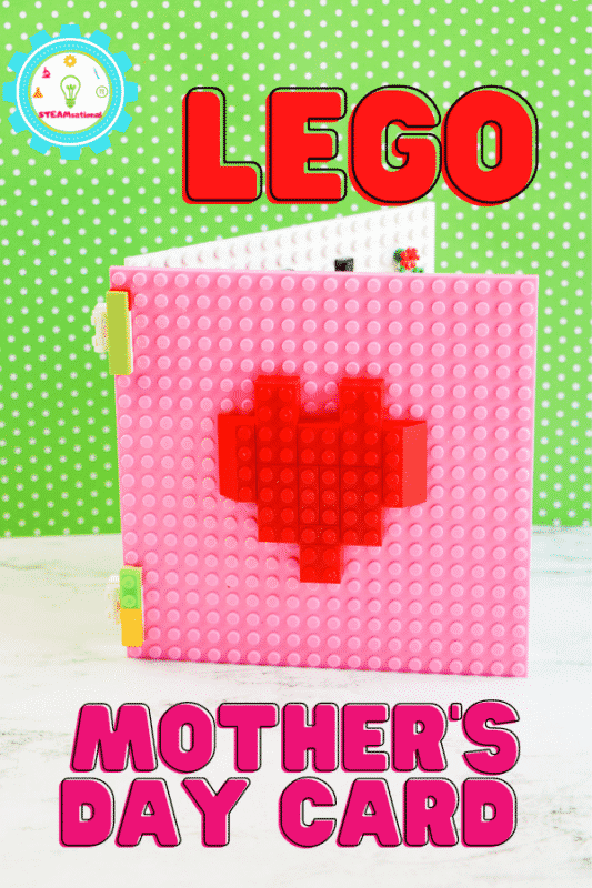 Use this tutorial and learn how to make a unique LEGO mothers Day card that she'll remember forever! A fun STEM activity for May!