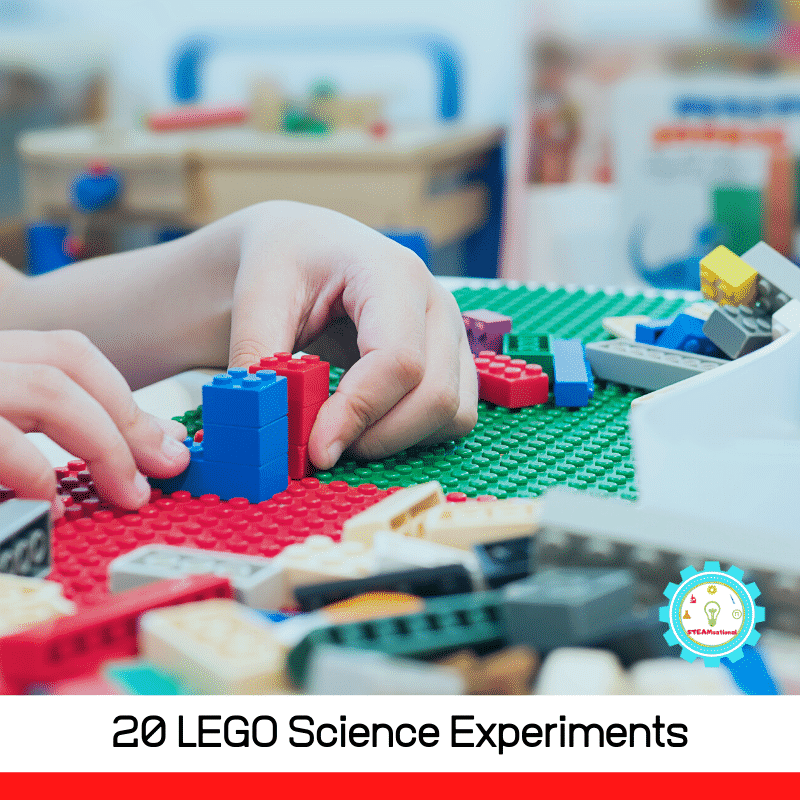 There are so many great ways you can utilize LEGOs to explore science concepts from learning about surface tension to building a car! These great hands-on LEGO science projects are the perfect way to get your kids excited about science, and make learning more fun.