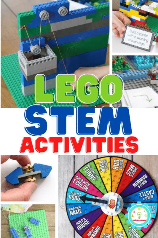 Although most of these STEM activities with LEGO include multiple elements of science, technology, engineering, and math, I've broken them up into sections with the biggest focus so that it's easy to find the best LEGO STEM activity for your class!