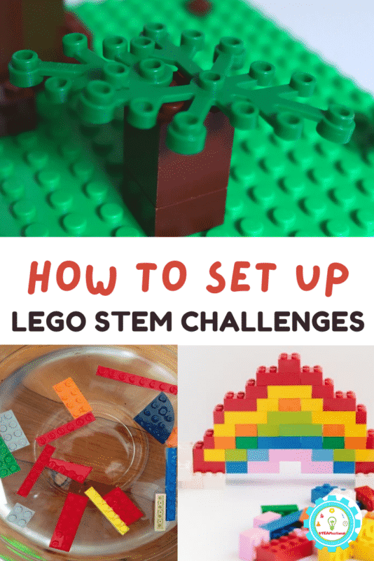 Find 20+ LEGO STEM challenges right here with unique activities for science, technology, engineering, and math!