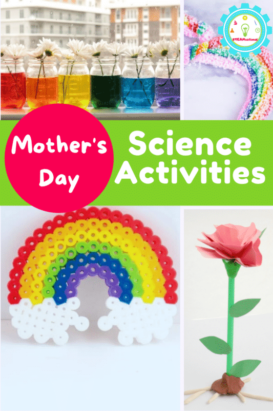 Mother's Day is when moms are celebrated, but not every mom wants  brunch. Some moms would rather try Mother's Day science activities!