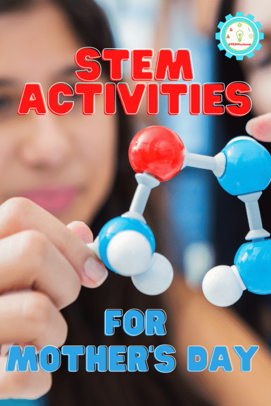 Mother's Day STEM should be bright, colorful, and fun for everyone involved, and these 15 STEM activities for Mother's Day do just that!