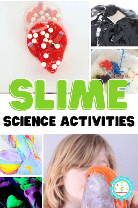 20+ slime recipes with a science twist perfect for elementary science fairs. Bring science to life with slime science projects!