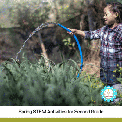 Low-Prep Spring STEM Activities for 2nd Grade (with worksheets!)