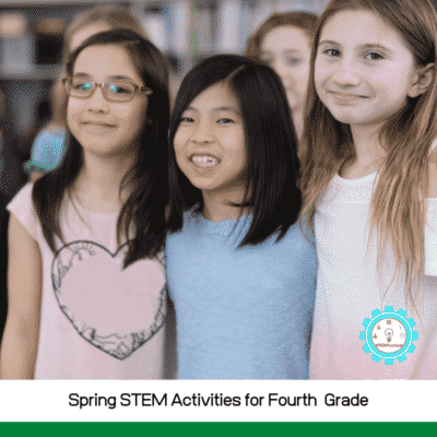 Colorful Spring STEM Activities for 4th Grade (with worksheets!)