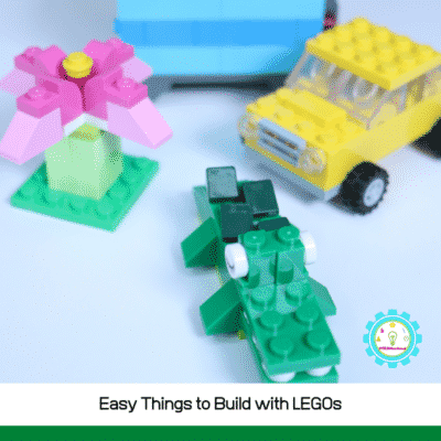 Easy Things to Build with LEGOs (using a Creative Brick Box)
