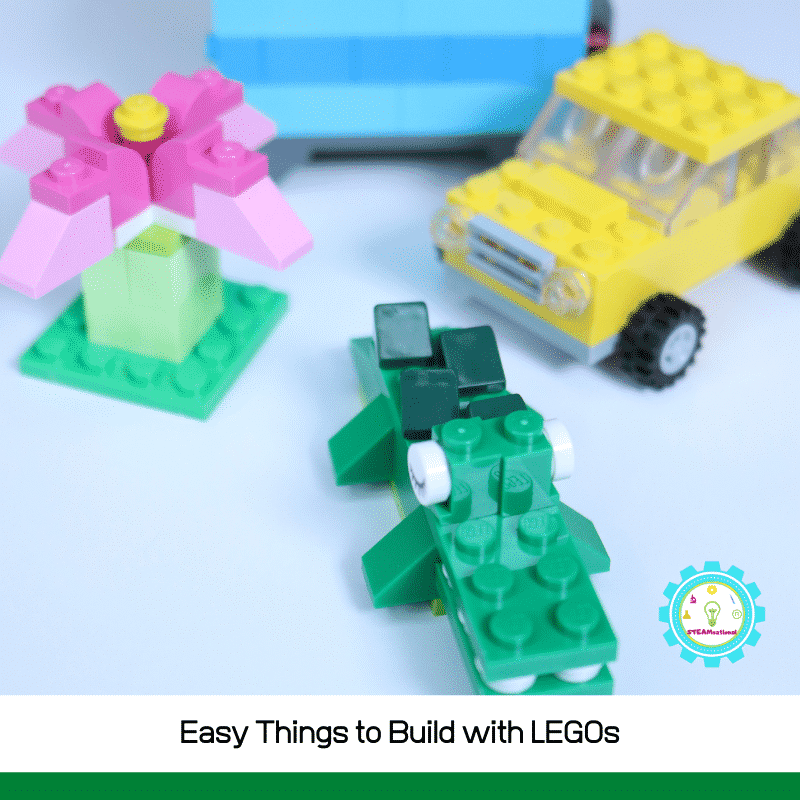 Easy things to build with LEGO are at hand! These easy LEGO builds are perfect for kids!