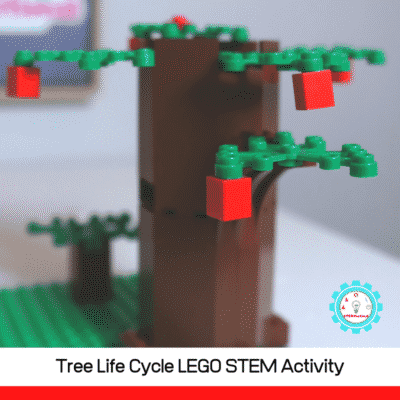 Life Cycle Earth Day LEGO Challenge- Hands-on STEM!