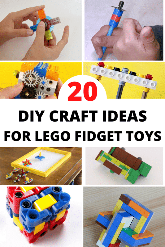 If you're looking for a super fun LEGO activity for the kids, these LEGO fidget toys are just what you need! Fast, simple, and unique!