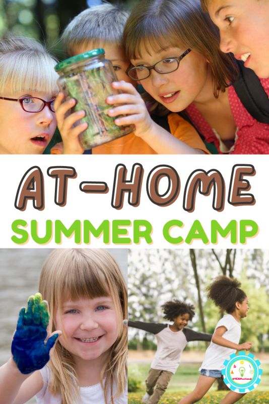Learn how to do summer camp at home. It's easier than you think!  Low-prep themes for every age group and interest!