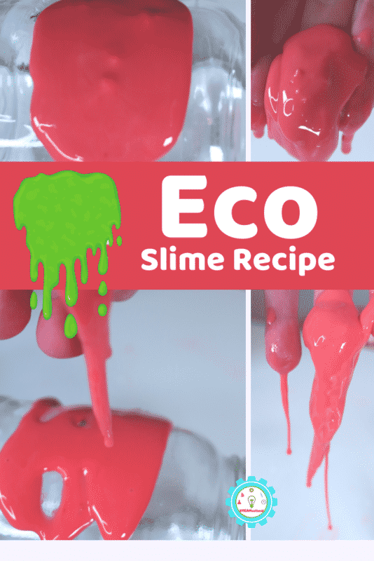 You can make slime and still be kind to the earth at the same time. This eco friendly slime recipe is made without glue, borax or chemicals.