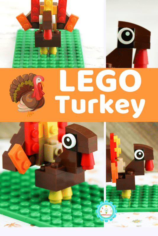 If you want to learn how to make a turkey out of LEGOs, this is the right place! Making a LEGO turkey isn't hard and is a fun addition to easy LEGO creations.