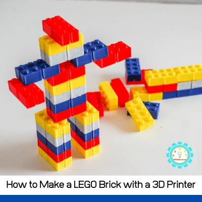 How to Make a Lego Brick Using a 3D Printer