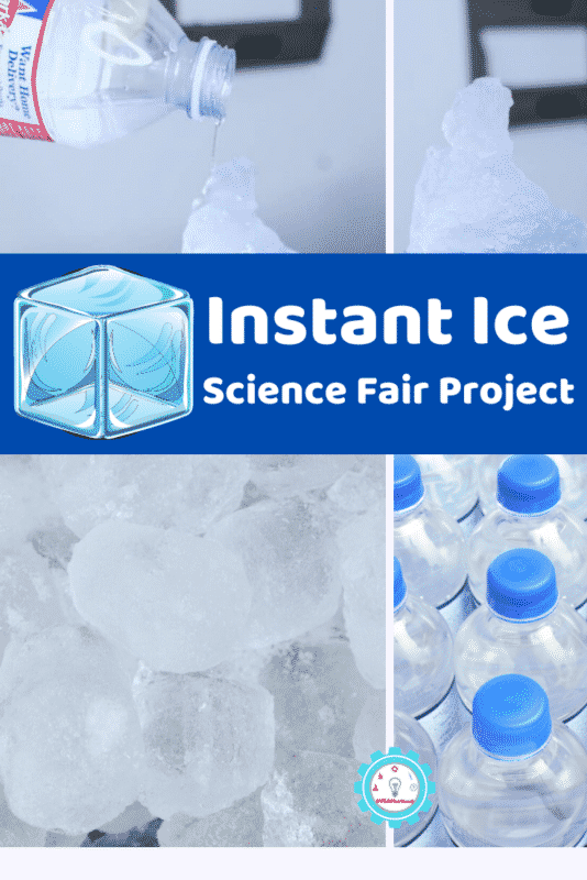 Instant ice experiments are a lot of fun! Here's how to turn your ice science activities into an instant ice science fair project!