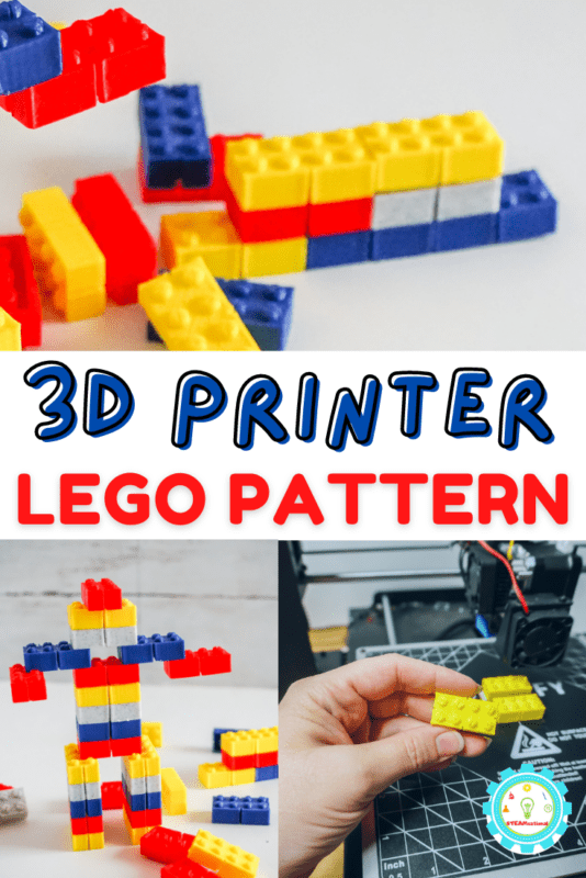 Here's how to make a LEGO brick using a 3D printer. This is a wonderful first entry into 3D printing because LEGO bricks are a straightforward shape and it's hard to mess up their design.