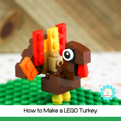 Want to learn how to make a turkey out of LEGOs? Follow along with these step-by-step directions for building a LEGO turkey!