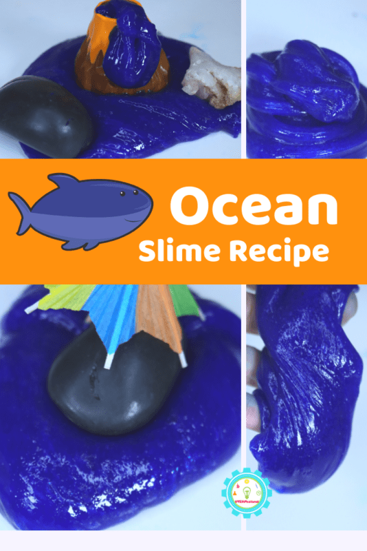 When it comes to slime recipes, there are so many variations! If you're looking for a bit of summer fun, you'll definitely want to try this ocean slime recipe without borax.