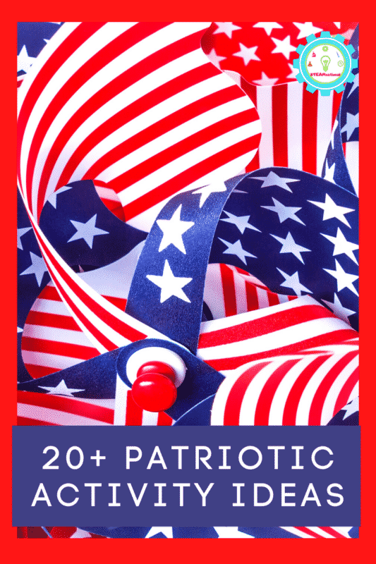 Learn and celebrate with these patriotic activities for kids! Use these patriotic craft ideas in the classroom, at daycare, or home!