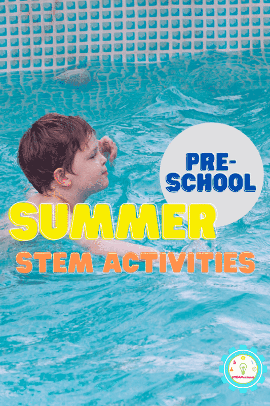 Summer is just around the corner, and if you're looking for a great way to keep your kids learning over the summer, you can't go wrong with summer STEM activities for preschool.
