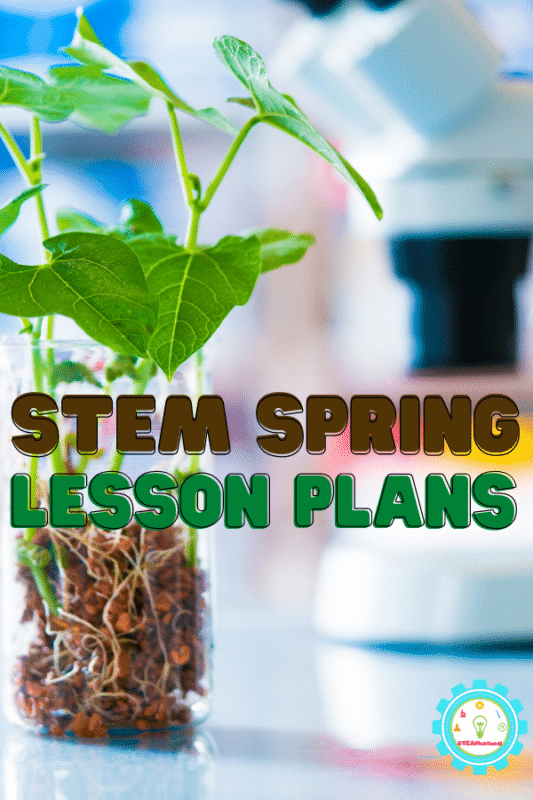 These spring lesson plans all have a STEAM focus and have ideas for science, technology, engineering, art, and math!