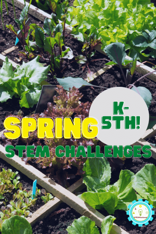 If you are teaching or mentoring a child in any way, try some of these spring STEM challenges! It's a wonderful way to bring STEM to life and encourage a lifelong love of science.