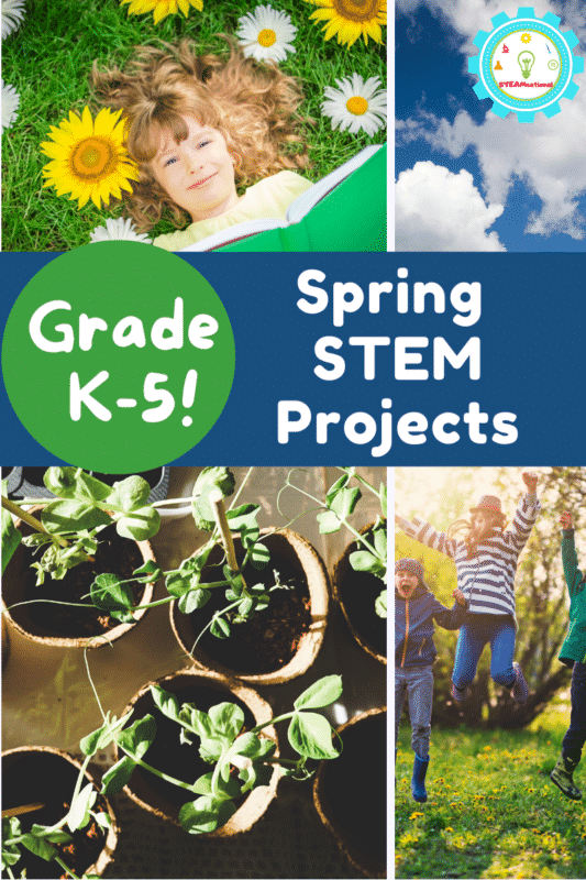 We really love doing STEM projects, and these are some of our favorite STEM projects for spring.