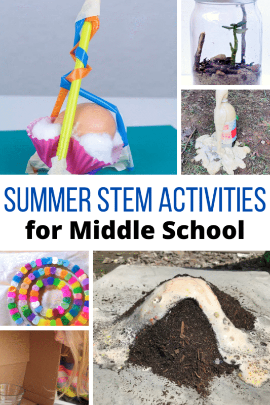 Who's ready for summer STEM? All of these summer STEM activities will keep middle school kids engaged and having fun while learning this summer.
