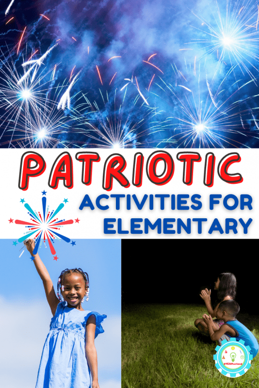 Make happy memories! 20+patriotic activities for elementary students that will fill your summer programs and time at home with colorful fun!