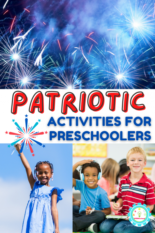 These are some of my favorite engaging and fun patriotic activities for preschool. Preschoolers will have the most fun of their lives doing these red, white, and blue preschool activities.