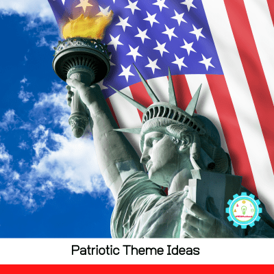 Don't just stick to red, white, and, blue! These patriotic theme ideas give new ways to learn with kids during America's special moments.