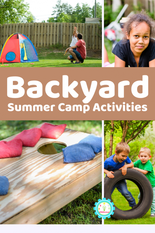 Today, we're sharing some of kids' favorite backyard summer camp ideas.  Over 20 backyard summer camp activity ideas for all kids of tastes!