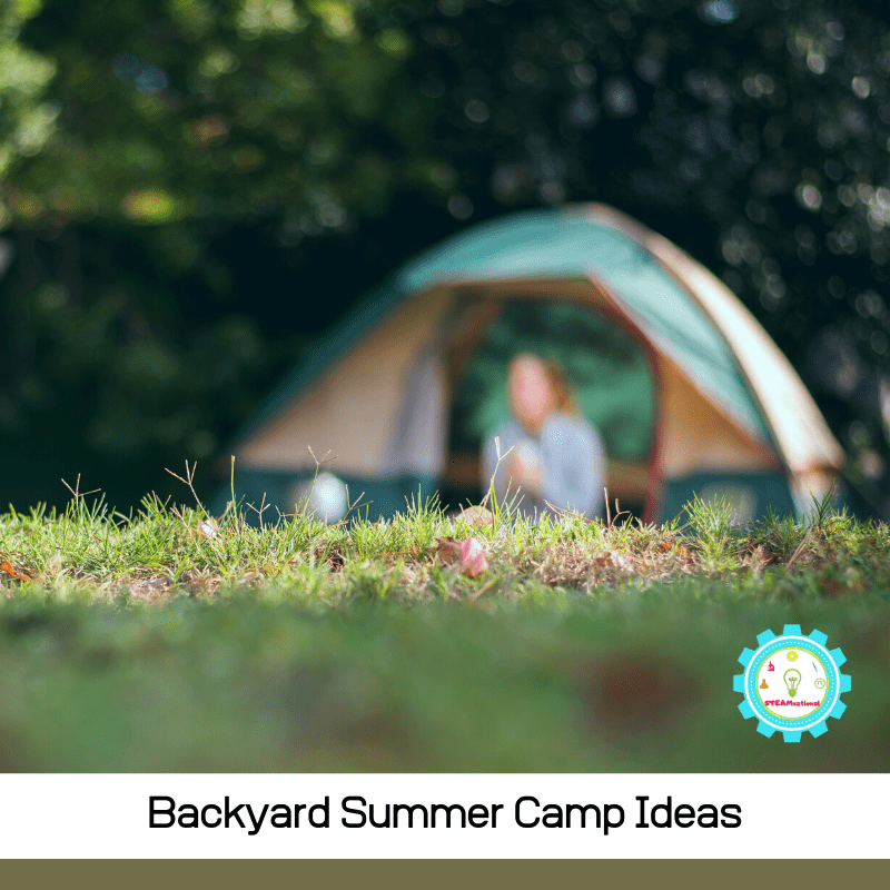 If you're planning to make a summer camp in the backyard this year, whether with friends, with your own kids, or as part of a summer camp program, you'll love the ideas for backyard summer camp on this list!