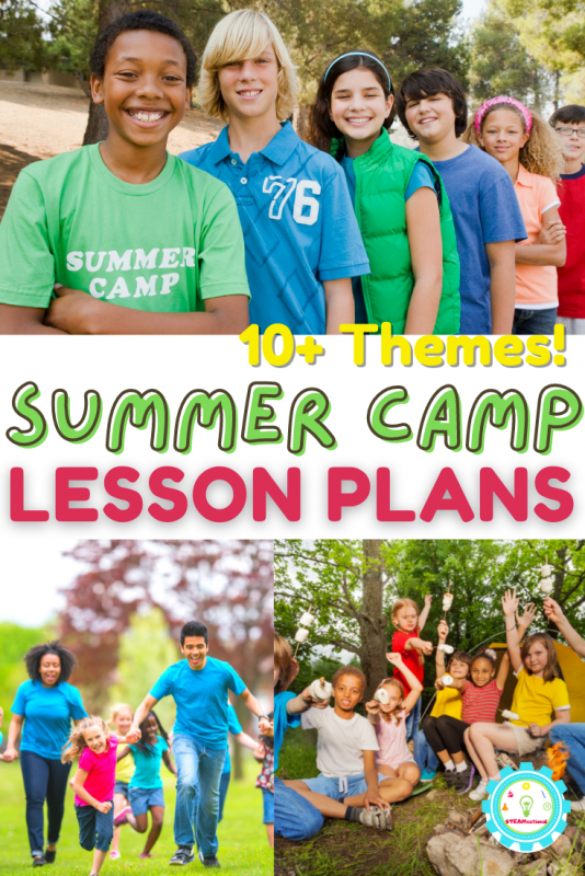 If you love summer camp, you'll love these complete summer camp lesson plans! They are ready to go and get started with tomorrow!
