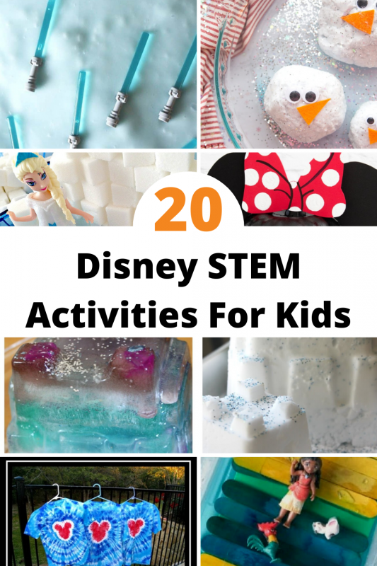 If you love all things Disney, and love trying your hand at Disney-inspired activities, then you will find that you have so much fun with these STEM activities with Disney themes. Who knew the Magic Kingdom had so much STEM learning in it?