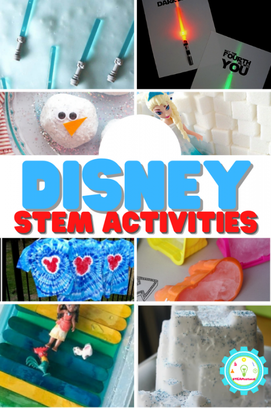 For Disney lovers, Disney STEM activities are where it's at! The 20 STEM activities on this list are inspired by Disney characters and shows.
