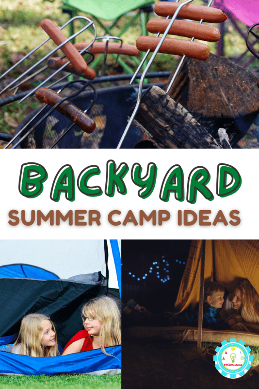 You can host your own summer camp! These backyard summer camp ideas give you over 20 kid-approved, crazy-fun summer camp activities for kids.