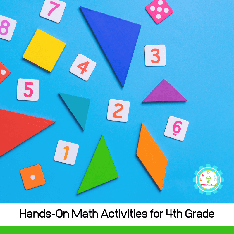 Don't ruin math forever. These 11+ hands-on 4th grade math activities give 4th graders the confidence boost they need to excel in math!