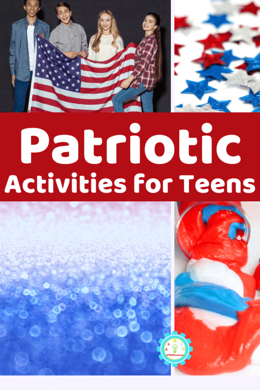 """Middle schoolers think they know everything and that nothing is """"cool."""" (They probably don't say that anymore). But even the most stoic middle schooler will have a hard time resisting these middle school activities for the 4th of July!"""