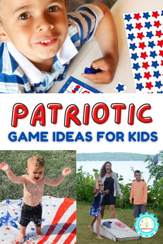 I tried really hard to select game options that are high-quality and built-to-last. You want to be able to use these patriotic games for 10 years, not just 10 minutes!