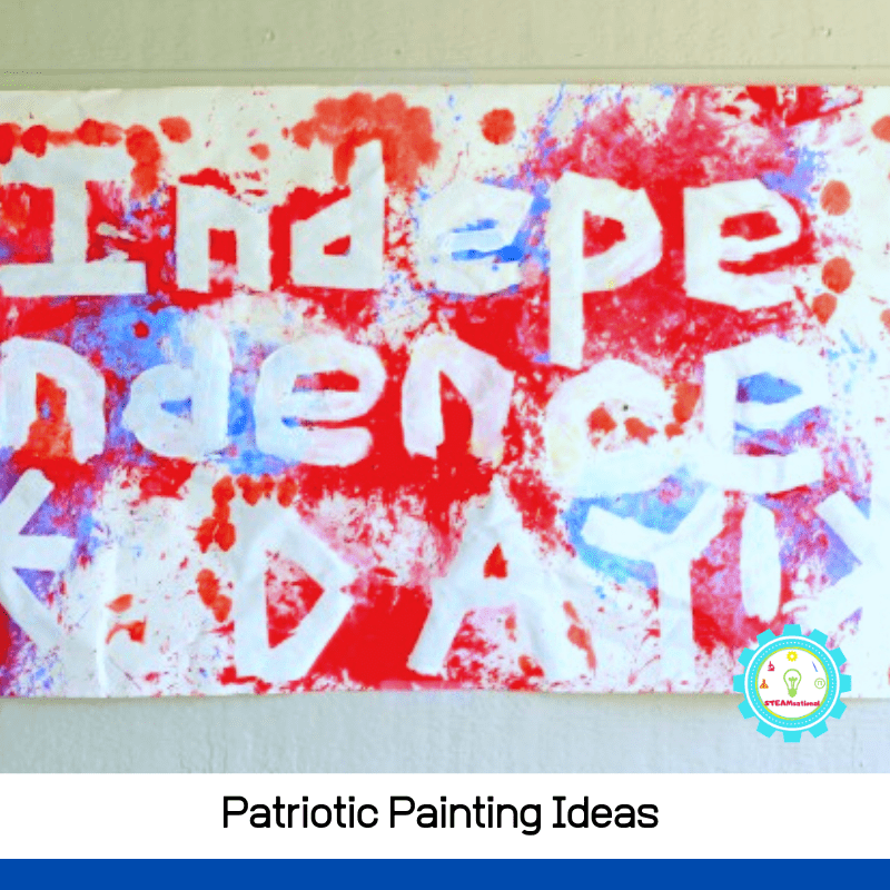 I can't wait to try these fun patriotic painting ideas with my kiddos this year!